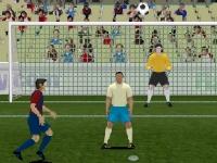 Флеш игра Нападающий 2: Испанская лига