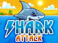 Флеш игра Нападение акулы
