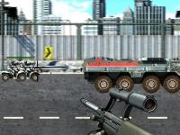 Флеш игра Нападение на дороге