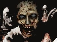 Флеш игра Нападение зомби на улице