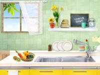 Флеш игра Нарезка фруктов на кухне