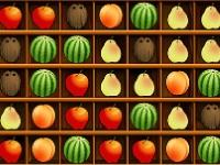 Флеш игра Нарезка фруктов по три в ряд