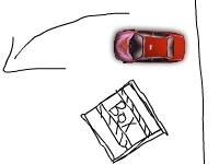 Флеш игра Нарисованная парковка