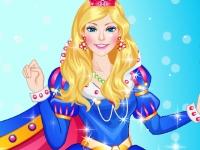 Флеш игра Наряд для принцессы на Рождество