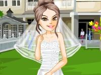 Флеш игра Наряди невесту