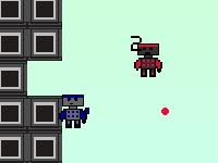 Флеш игра Нашествие роботов