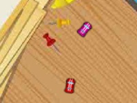 Флеш игра Настольные мини гонки