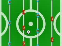 Флеш игра Настольный футбол на двоих
