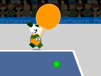 Флеш игра Настольный теннис с пандами