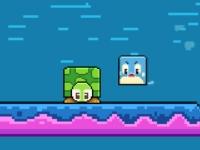 Флеш игра Найди черепаху