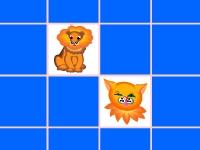 Флеш игра Найди пару: Животные