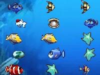 Флеш игра Найди пару рыбке