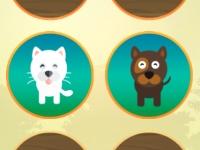 Флеш игра Найди пару животных html5