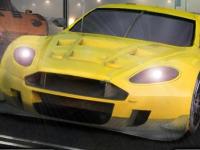 Флеш игра Нелегальные гонки на парковке