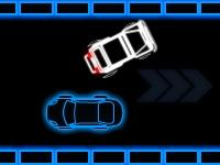 Флеш игра Неоновая парковка грузовика