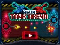 Флеш игра Неоновые танки: Арена