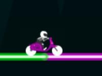 Флеш игра Неоновый байкер