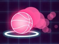 Флеш игра Неоновый мяч