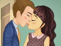 Флеш игра Неожиданный поцелуй