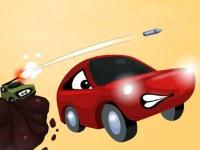 Флеш игра Невероятное сражение автомобилей
