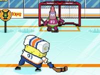 Флеш игра Никелодеон: Звезды зимних видов спорта