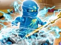 Флеш игра Ниндзяго: Энергетическое копьё