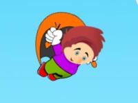 Флеш игра Нино на параплане