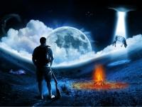 Флеш игра Ночные пейзажи: Пазл