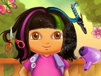 Флеш игра Новая причёска для Даши Путешественницы