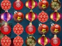 Флеш игра Новогодние игрушки в ряд