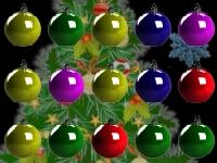 Флеш игра Новогодние падающие шарики