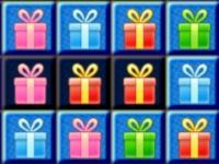 Флеш игра Новогодние подарки в ряд