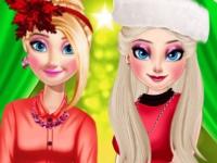 Флеш игра Новогодние покупки принцесс