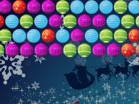 Флеш игра Новогодние пузыри