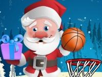 Флеш игра Новогодний баскетбол
