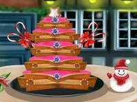 Флеш игра Новогодняя елка из пряников