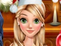 Флеш игра Новогодняя вечеринка для принцесс