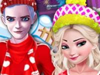 Флеш игра Новогодняя вечеринка принцесс