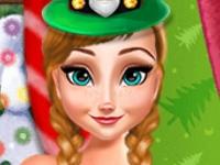 Флеш игра Новогодняя вечеринка у принцесс
