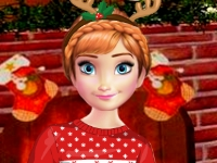 Флеш игра Новый Год с Анной