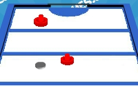 Флеш игра Новый аэрохоккей