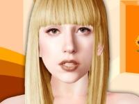 Флеш игра Новый макияж для Леди Гаги
