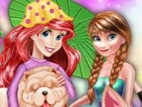 Флеш игра Новый стиль для принцессы