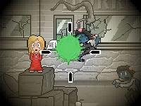Флеш игра Ням-ням зомби