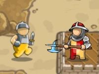 Флеш игра Оборона крестоносцев