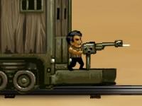 Флеш игра Оборона поезда