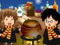 Флеш игра Оборотное зелье для Гарри Поттера