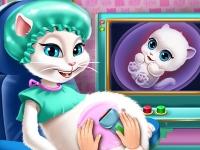Флеш игра Обследование беременной Анжелы