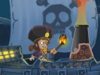 Флеш игра Обстрел порта: эй, на палубе!