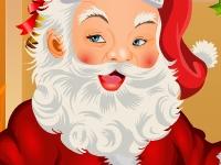 Флеш игра Одень Деда Мороза